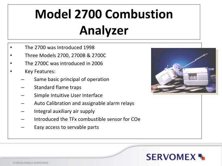 The 2700 was Introduced 1998