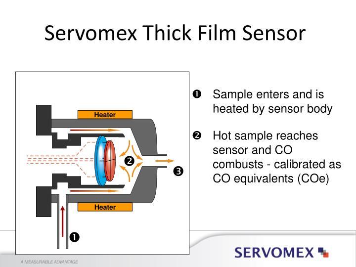 Servomex Thick Film Sensor