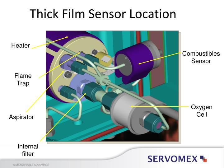 Thick Film Sensor Location