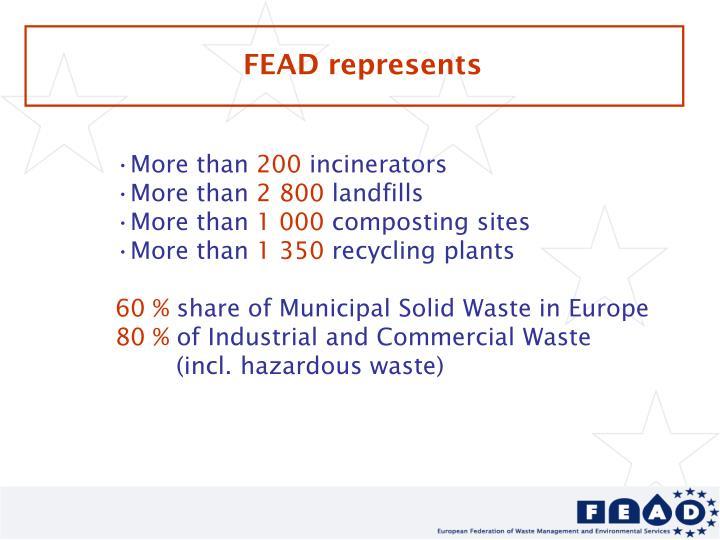 FEAD represents