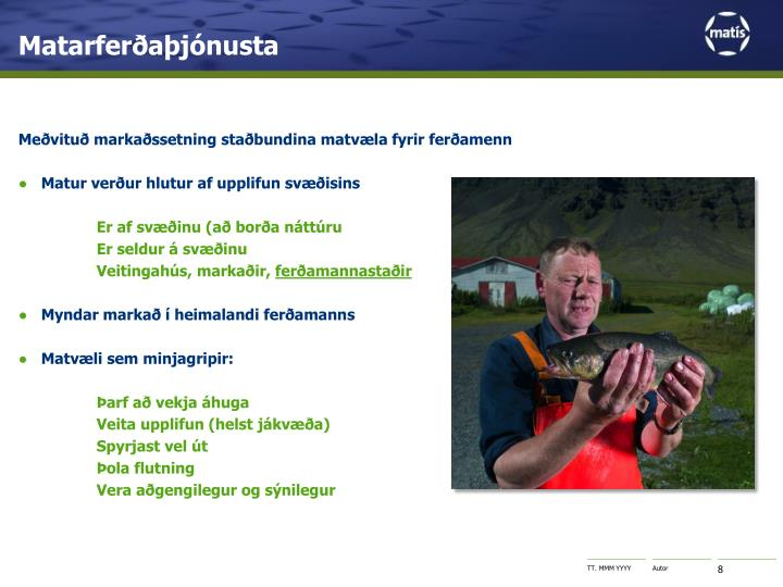 Matarferðaþjónusta