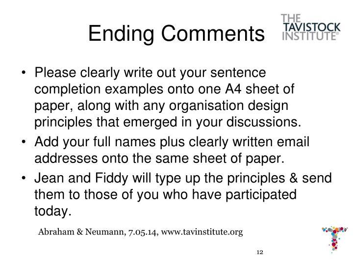Abraham & Neumann, 7.05.14, www.tavinstitute.org