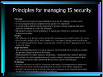 principles for managing is security1