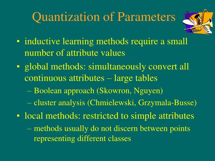 Quantization of Parameters