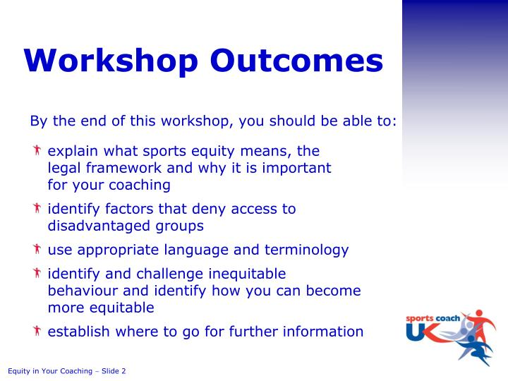 Workshop Outcomes