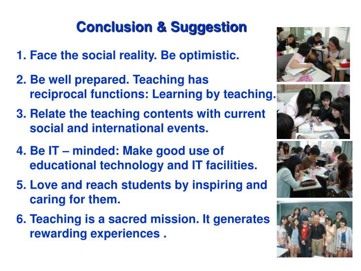Conclusion & Suggestion