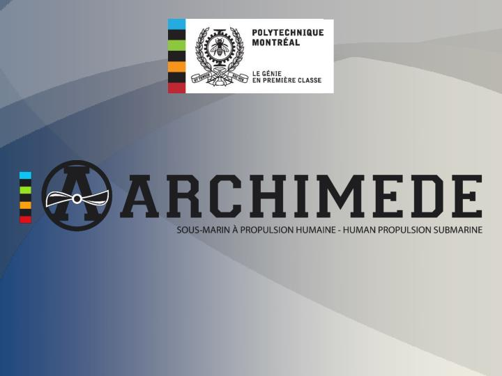 Brief history archimede vi past events budget 2012 2013 team members competition crews design