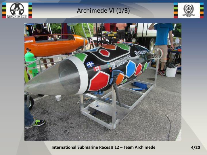 Archimede VI (1/3)
