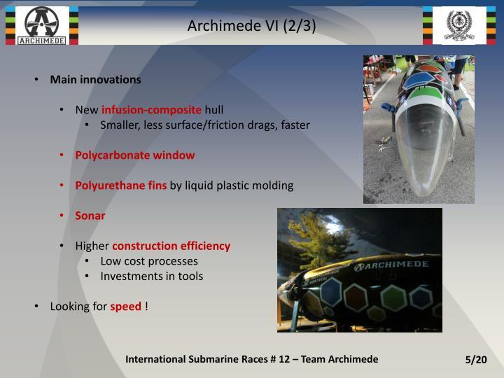 Archimede VI (2/3)