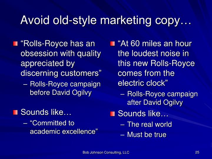"""""""Rolls-Royce has an obsession with quality appreciated by discerning customers"""""""