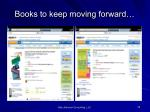 b ooks to keep moving forward