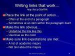 writing links that work http bit ly 2dxrht