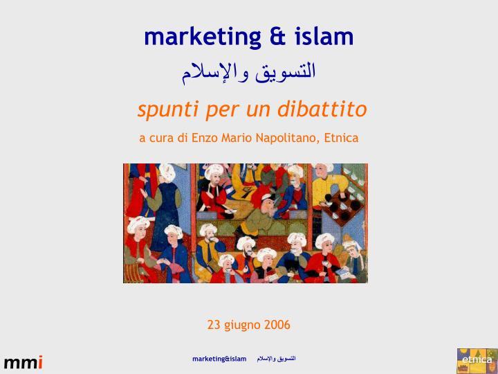 marketing & islam