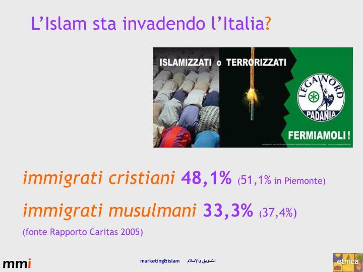L'Islam sta invadendo l'Italia