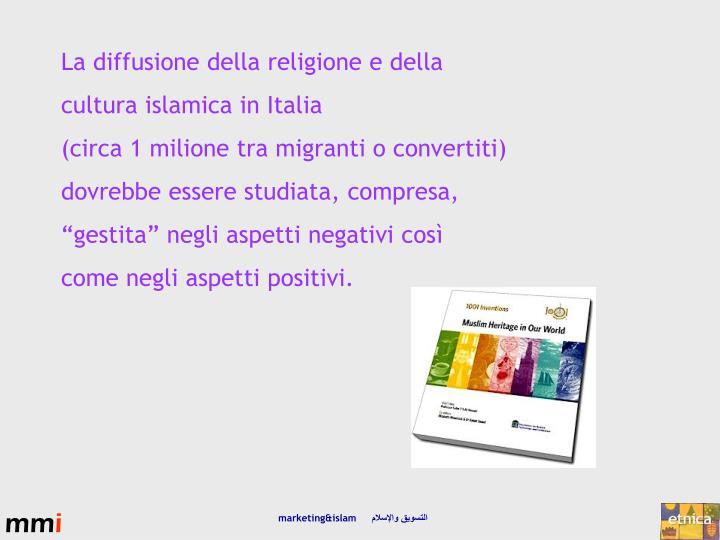 La diffusione della religione e della
