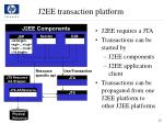 j2ee transaction platform