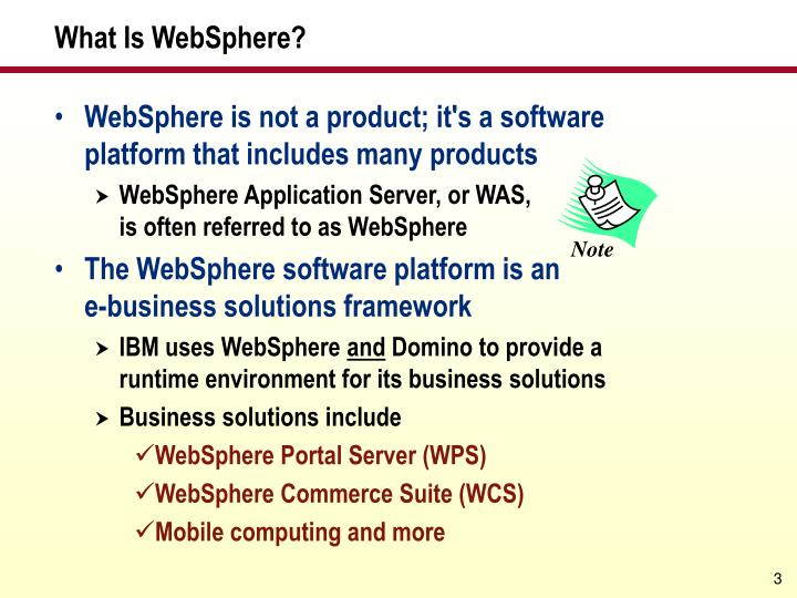 What is websphere