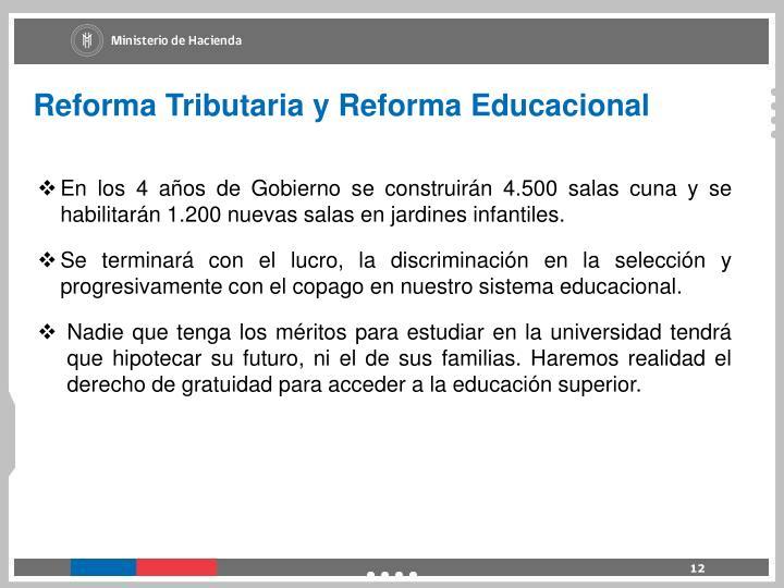 Reforma Tributaria y Reforma Educacional