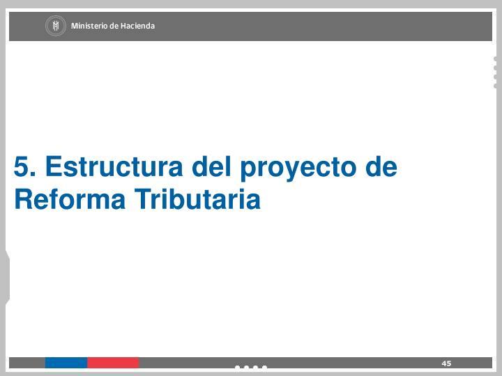 5. Estructura