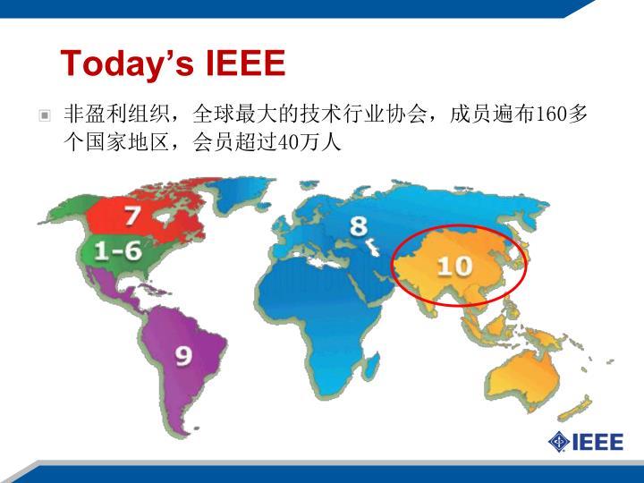 Today's IEEE
