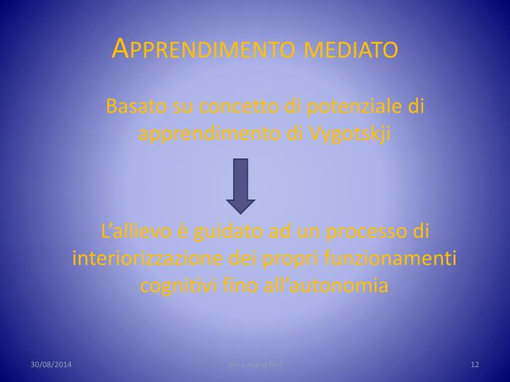 Apprendimento mediato