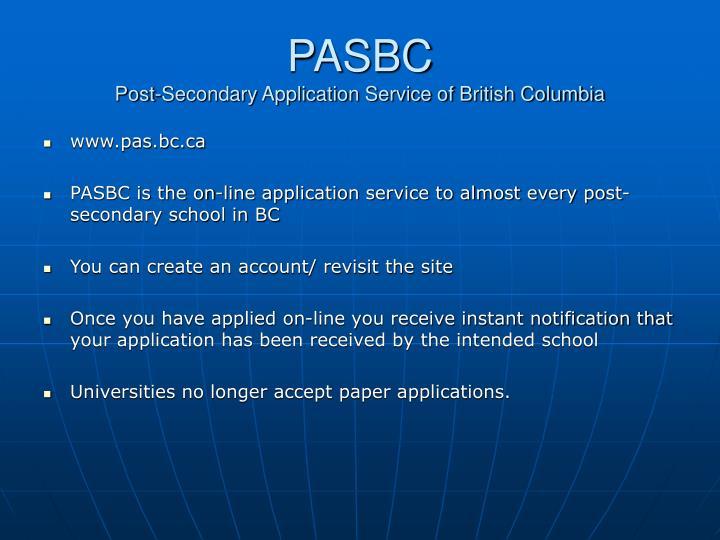 PASBC