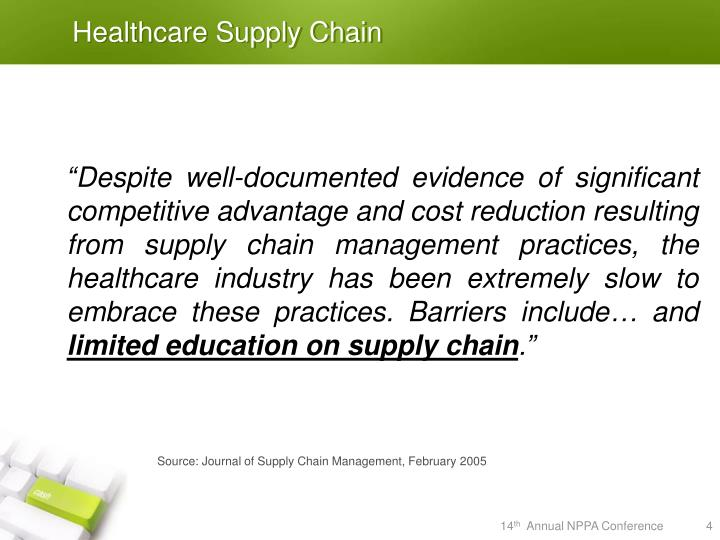Healthcare Supply Chain
