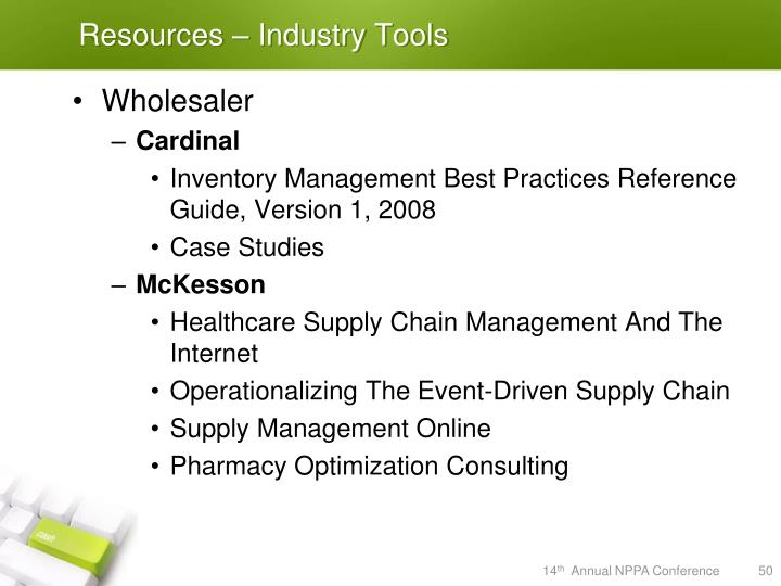 Resources – Industry Tools