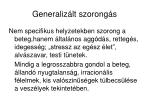 generaliz lt szorong s