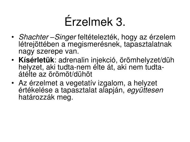 Érzelmek 3.