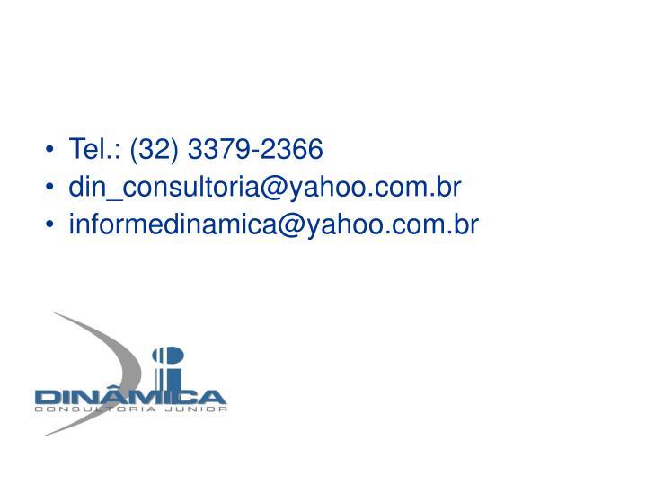 Tel.: (32) 3379-2366