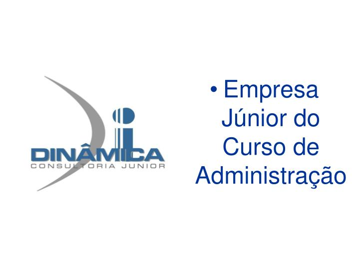 Empresa Júnior do Curso de Administração