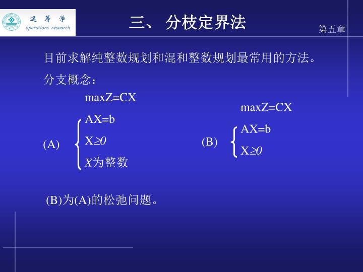 maxZ=CX