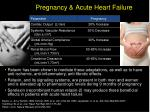 pregnancy acute heart failure
