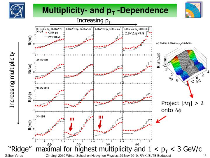 Multiplicity- and p