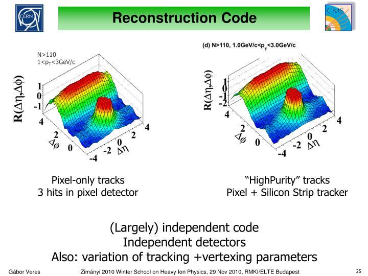 Reconstruction Code