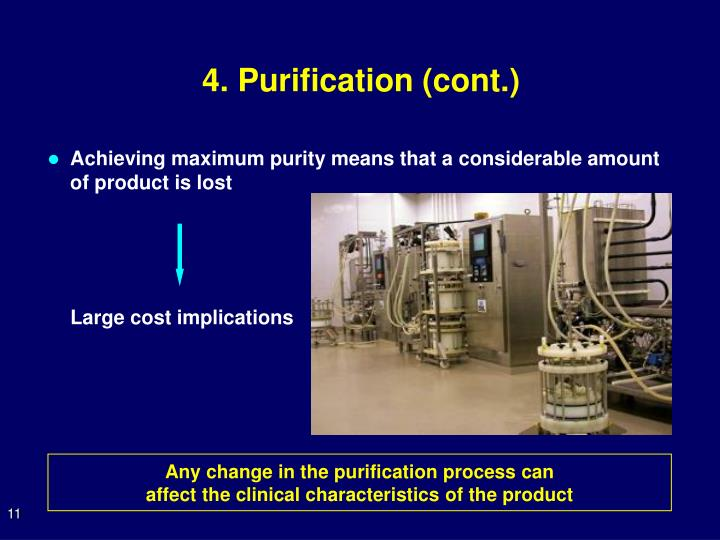 4. Purification (cont.)