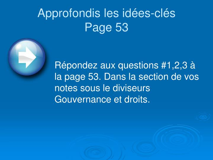 Approfondis les id