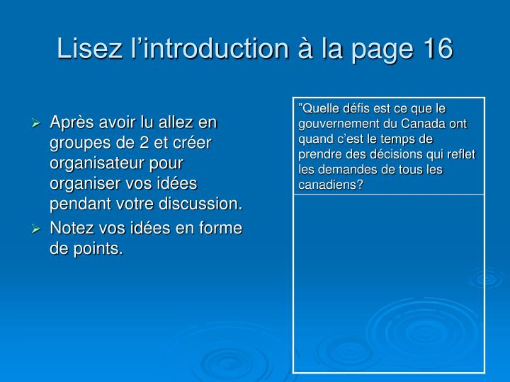 Lisez l'introduction