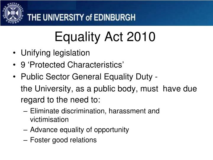 equality discrimination and health sector
