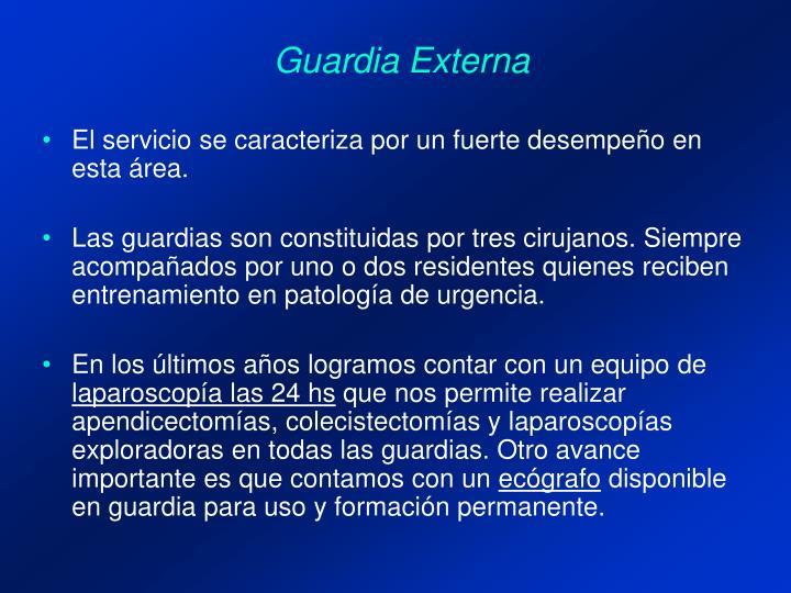 Guardia Externa