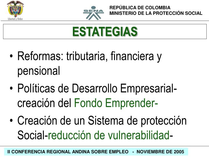 ESTATEGIAS