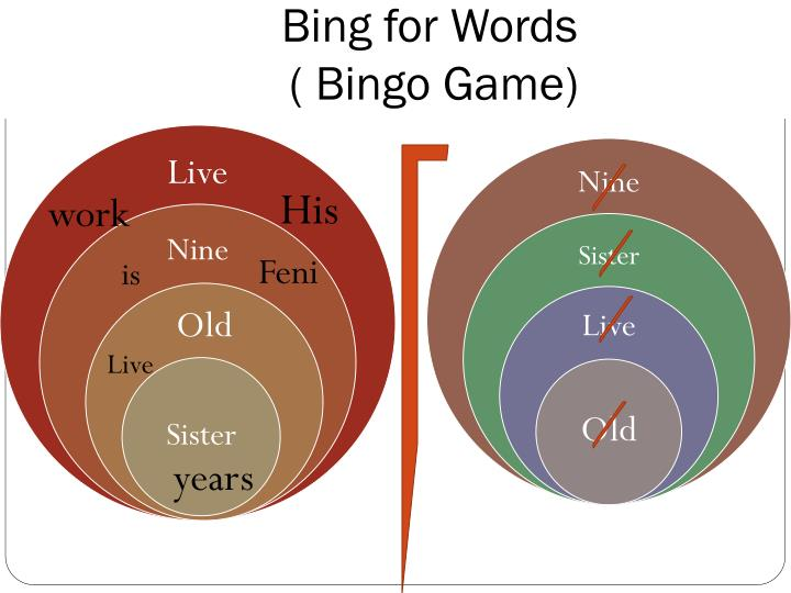 Bing for Words