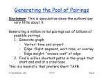 generating the pool of pairings