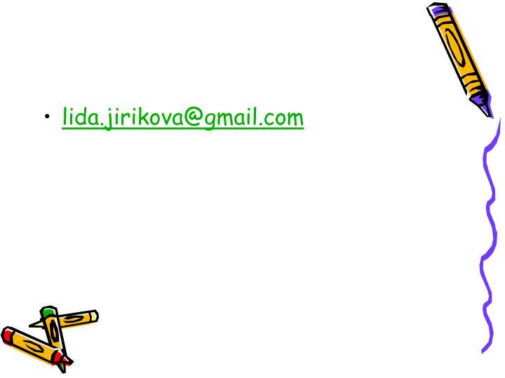 lida.jirikova@gmail.com