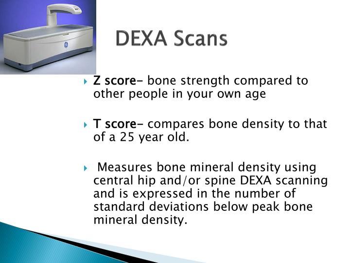 DEXA Scans
