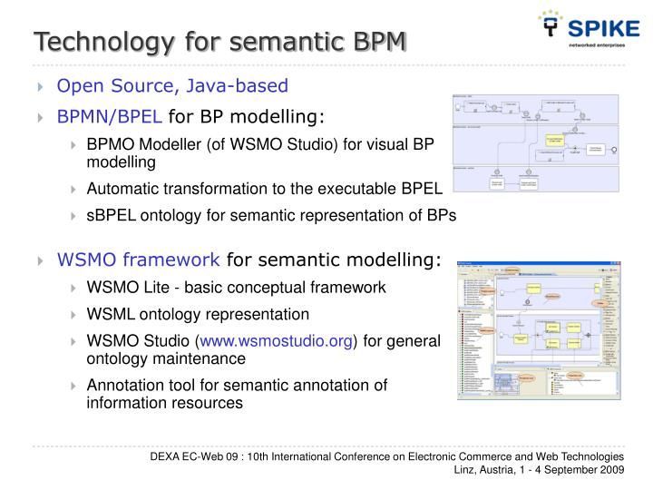 Technology for semantic BPM