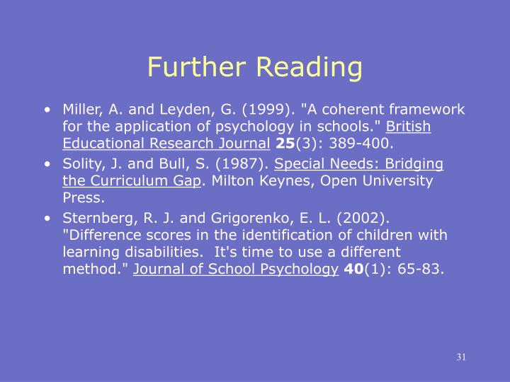 PPT - Educational Psychology PowerPoint Presentation - ID ...