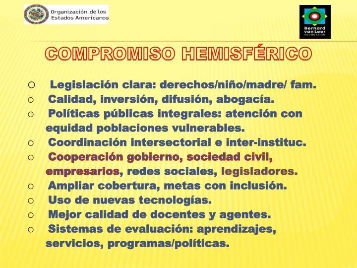 COMPROMISO HEMISFÉRICO