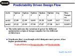 predictability driven design flow2